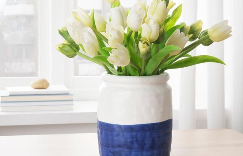 Vaso de Cerâmica Branco | westwing.com.br