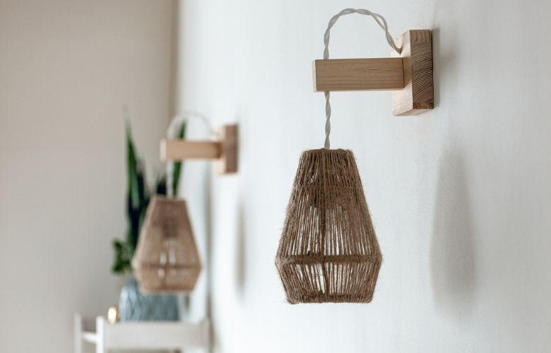 Luminária de Fibra Natural | westwing.com.br