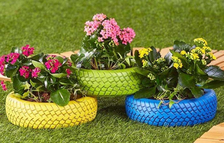 Floreira com Pneus | westwing.com.br