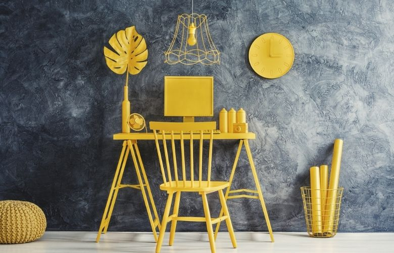 Lixeira Amarela   westwing.com.br
