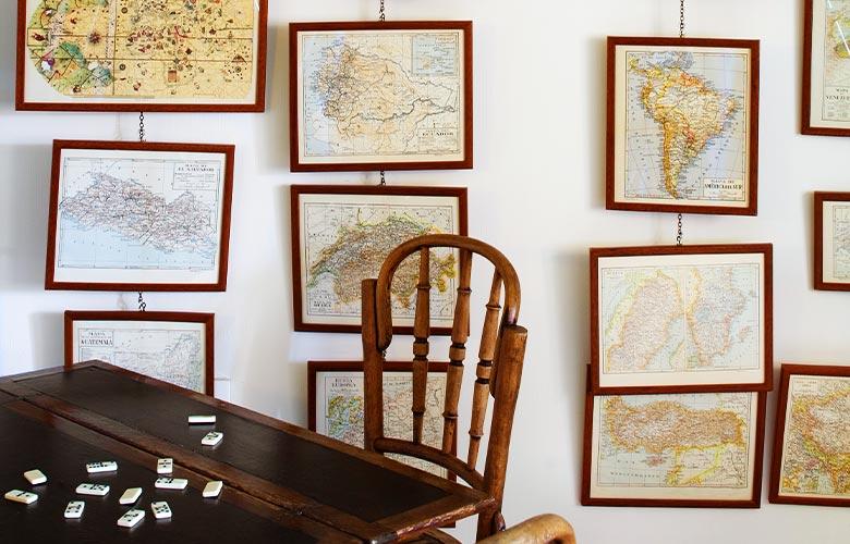 Mapas Antigos na Decoração   westwing.com.br