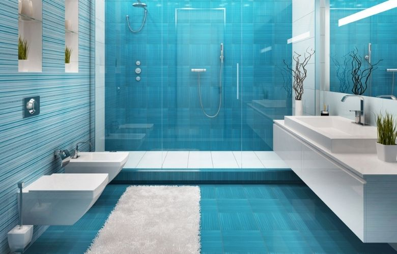 Piso Azul | westwing.com.br