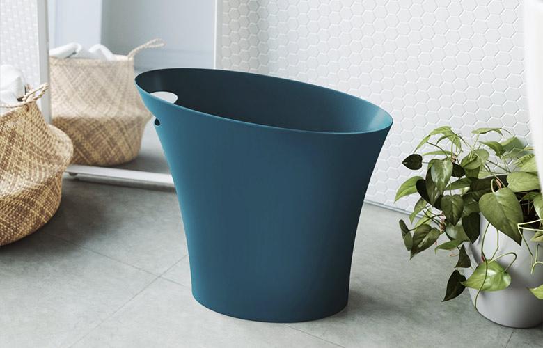 Lixeira Azul   westwing.com.br