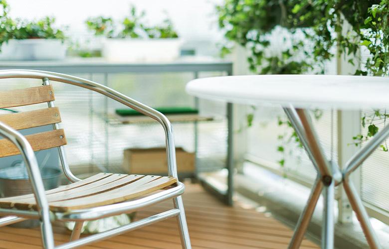 Mesa de Alumínio para Varanda | westwing.com.br