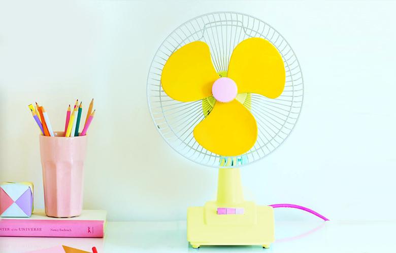 Ventilador Amarelo   westwing.com.br