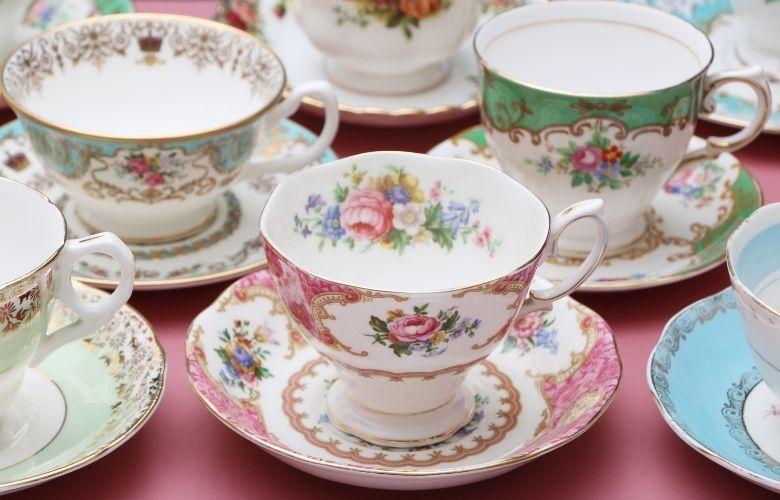 Jogo de Chá de Porcelana | westwing.com.br