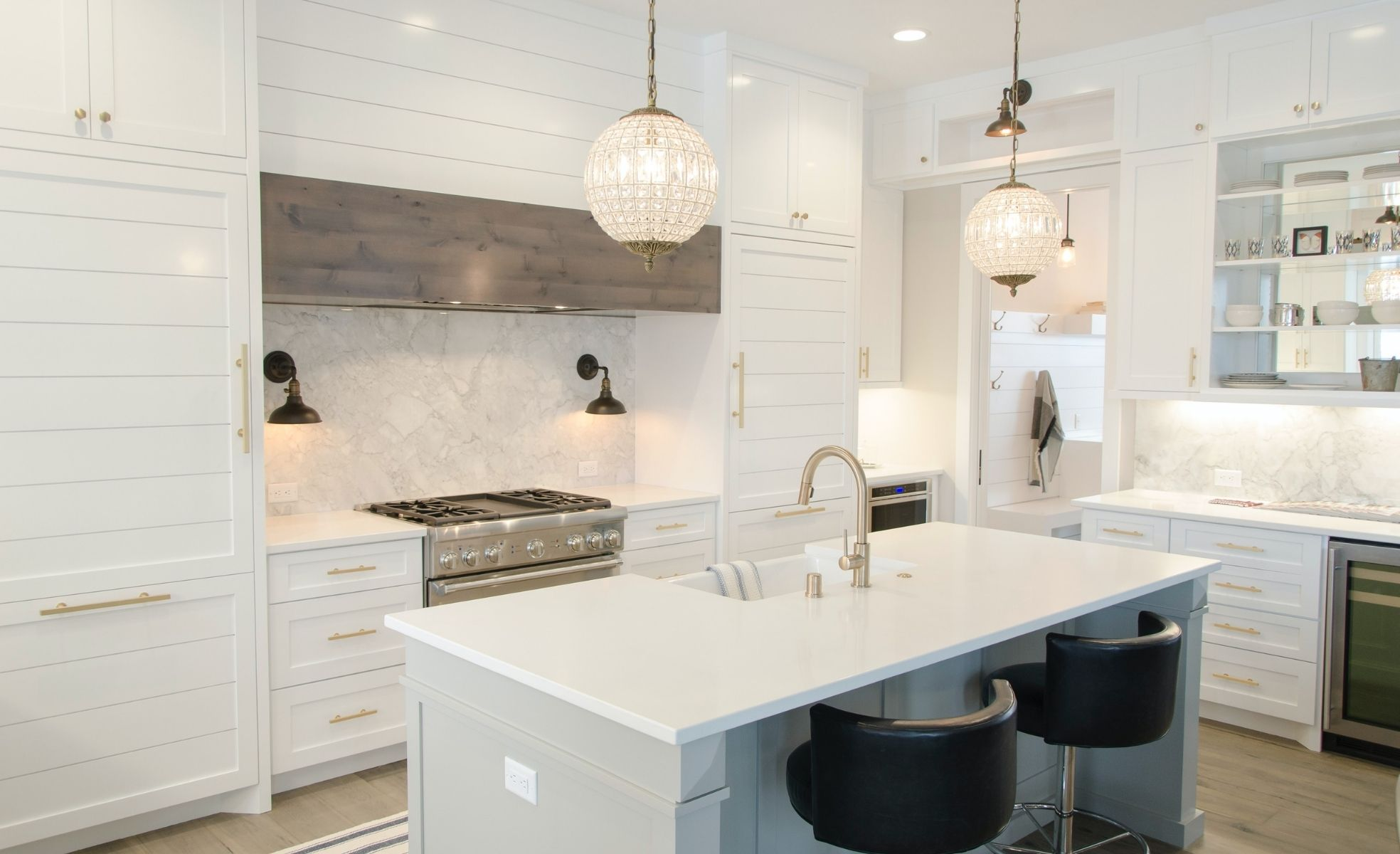 cozinha limpa e super organizada