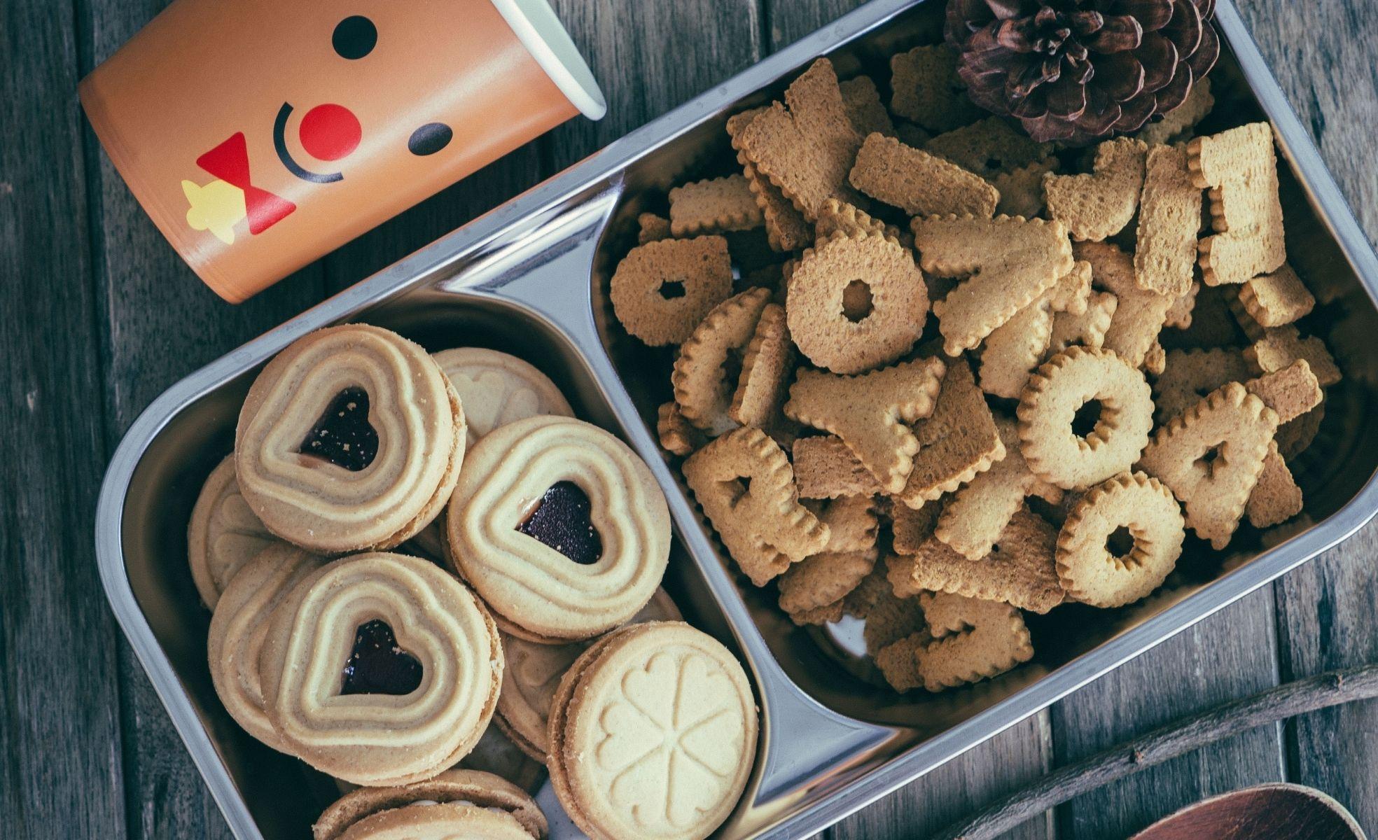 receita do dia dos namorados: cookies recheados com framboesa