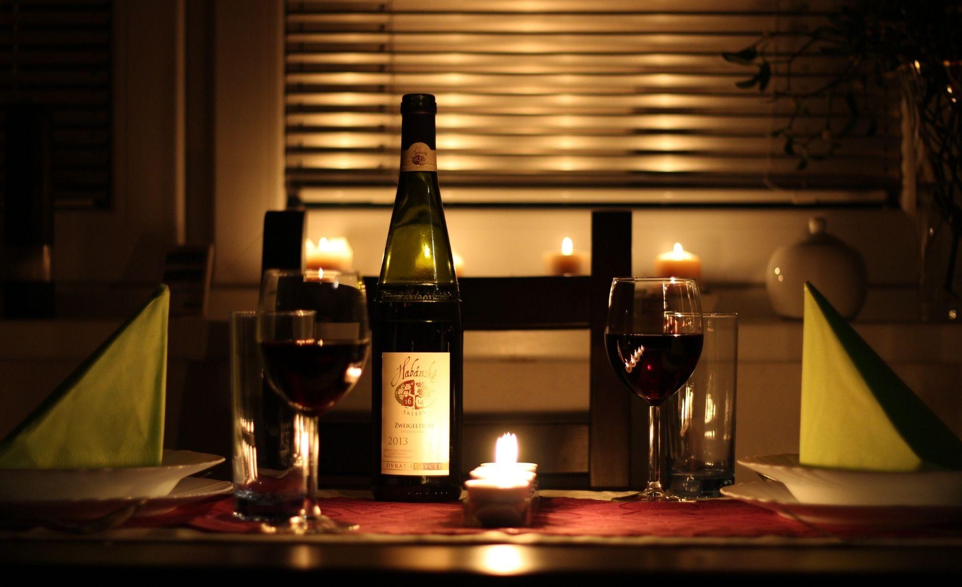 decoração romântica para dia dos namorados