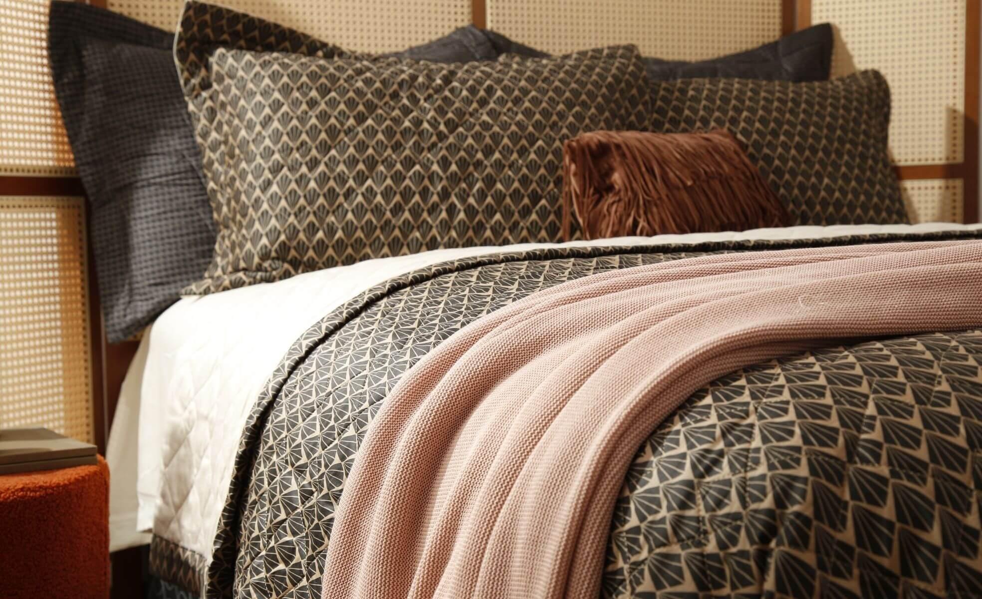 roupa de cama moderna e elegante
