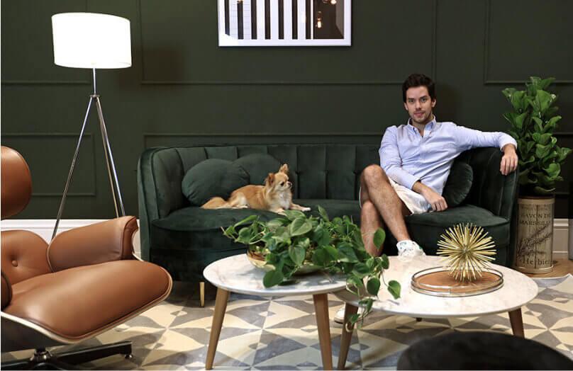 A nova sala do Gabriel Gontijo | Revista | Westwing.com.br