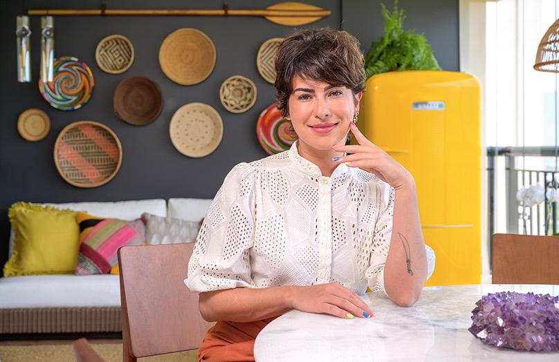 Westwing Makeover: confira a transformação da varanda da atriz Fê Paes Leme | Westwing.com.br