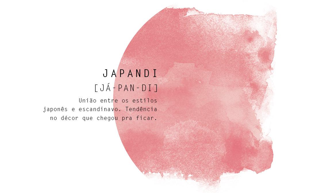 Palavra japandi escrita em formato de dicionário | westwing.com.br