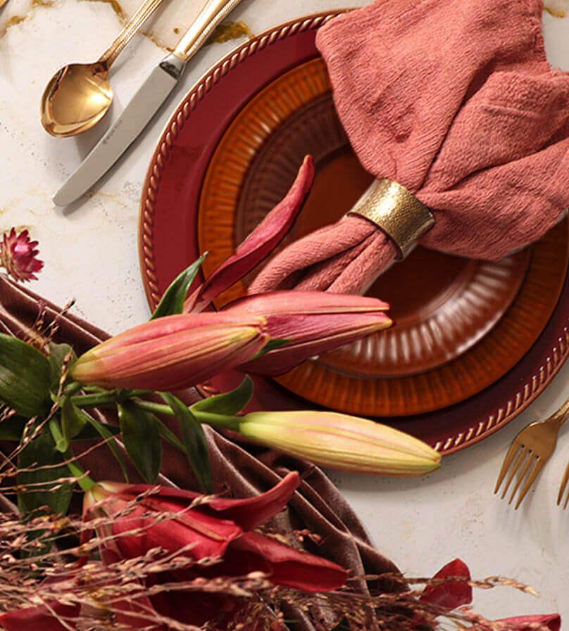 Alerta tendência: cor Burgundy na sua mesa | Westwing.com.br