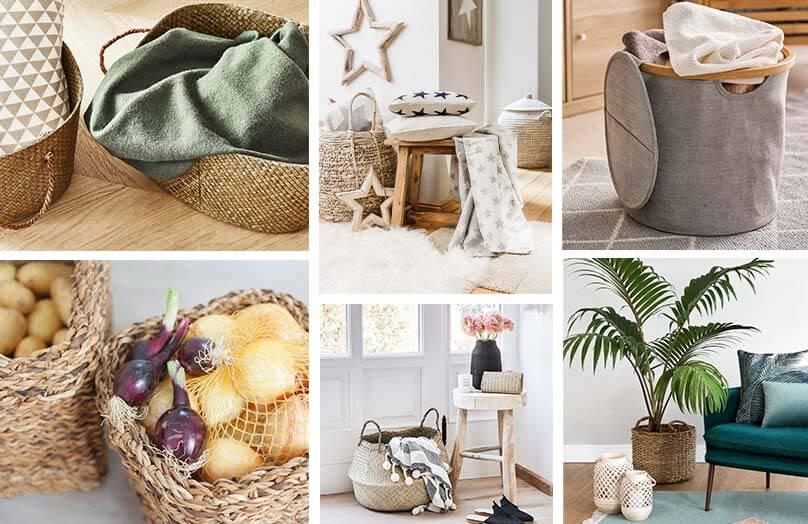 Cestos: seus aliados para organizar, decorar e otimizar | Westwing.com.br