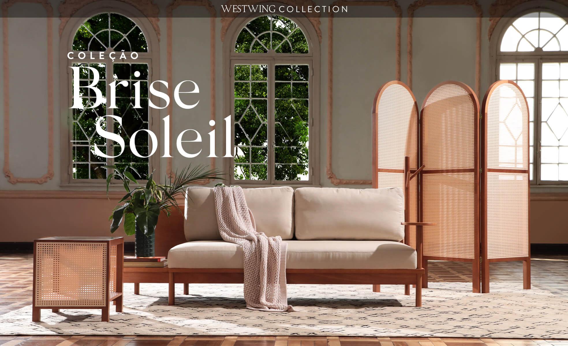 westwing collection, madeira e palhinha, brise soleil, mobiliário brasileiro | westwing.com.br