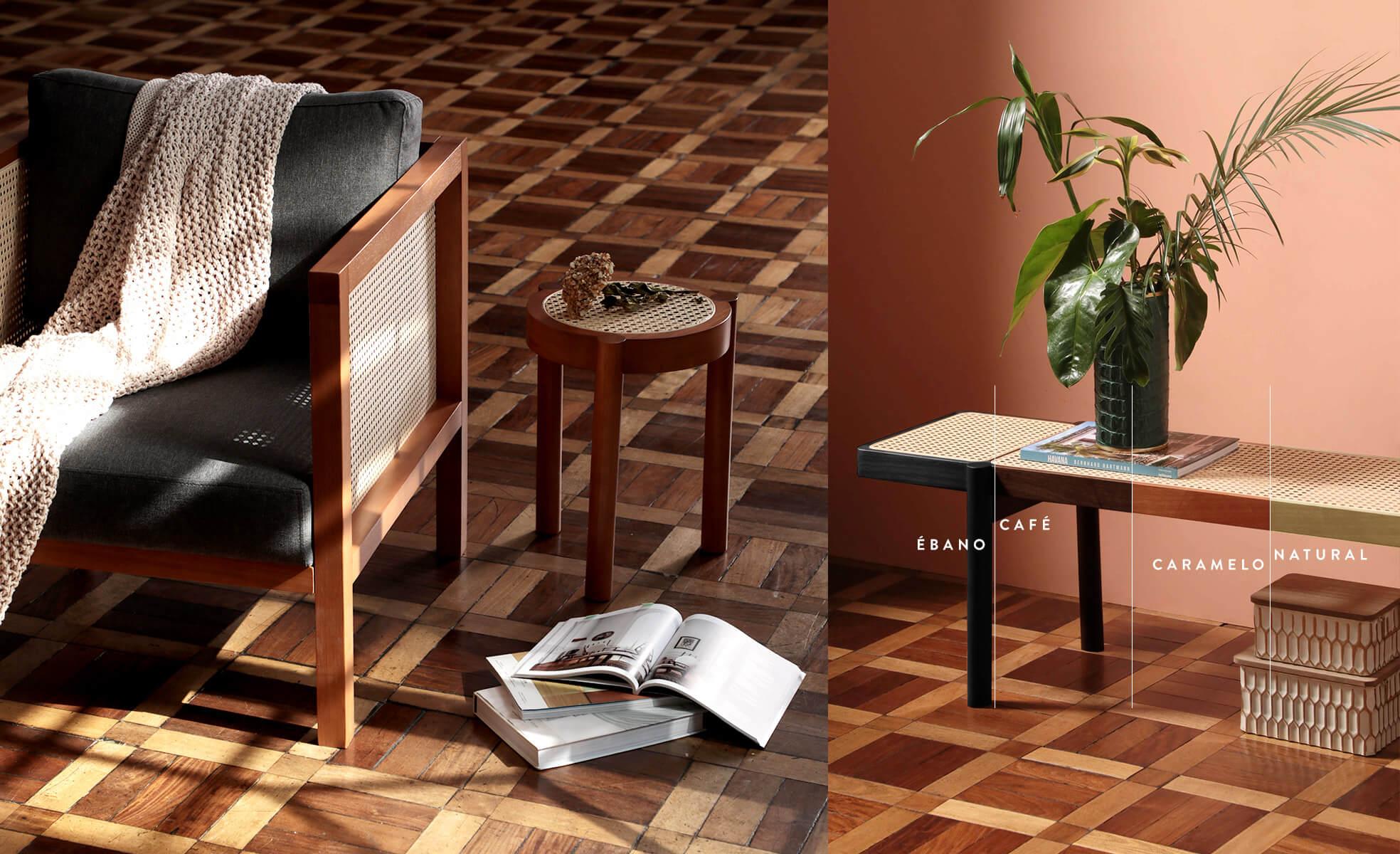 madeira e palhinha, tipos de acabamento, westwing collection, brise soleil | westwing.com.br