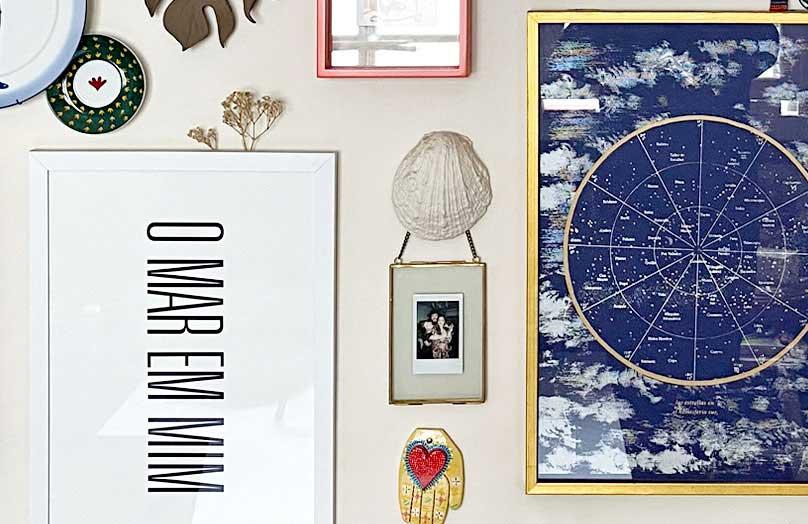 Gallery wall afetivo: uma parede de memórias | Westwing.com.br