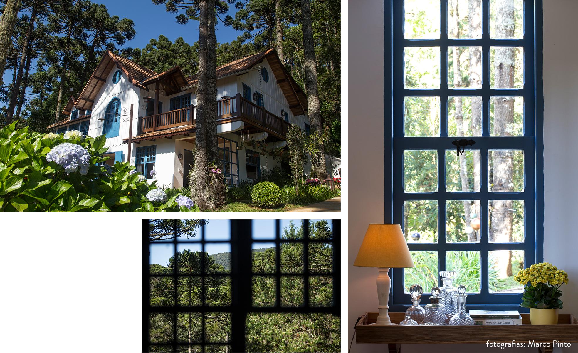 Detalhes e fachada da Provence Cottage & Bistrô | westwing.com.br