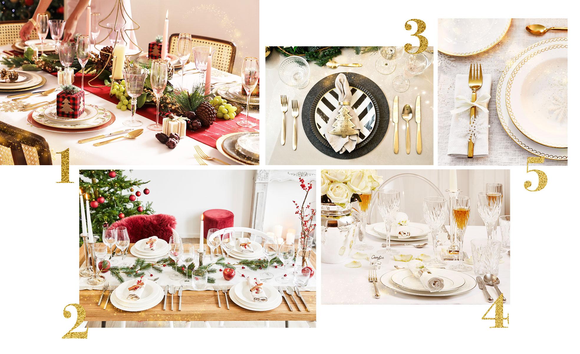 Como montar a mesa de Natal | westwing.com.br