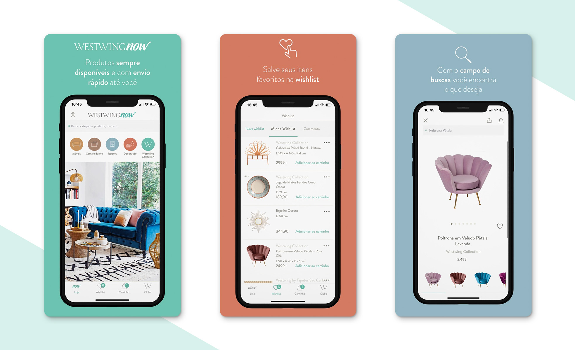Dicas de aplicativos de decoração | WestwingNow | westwing.com.br