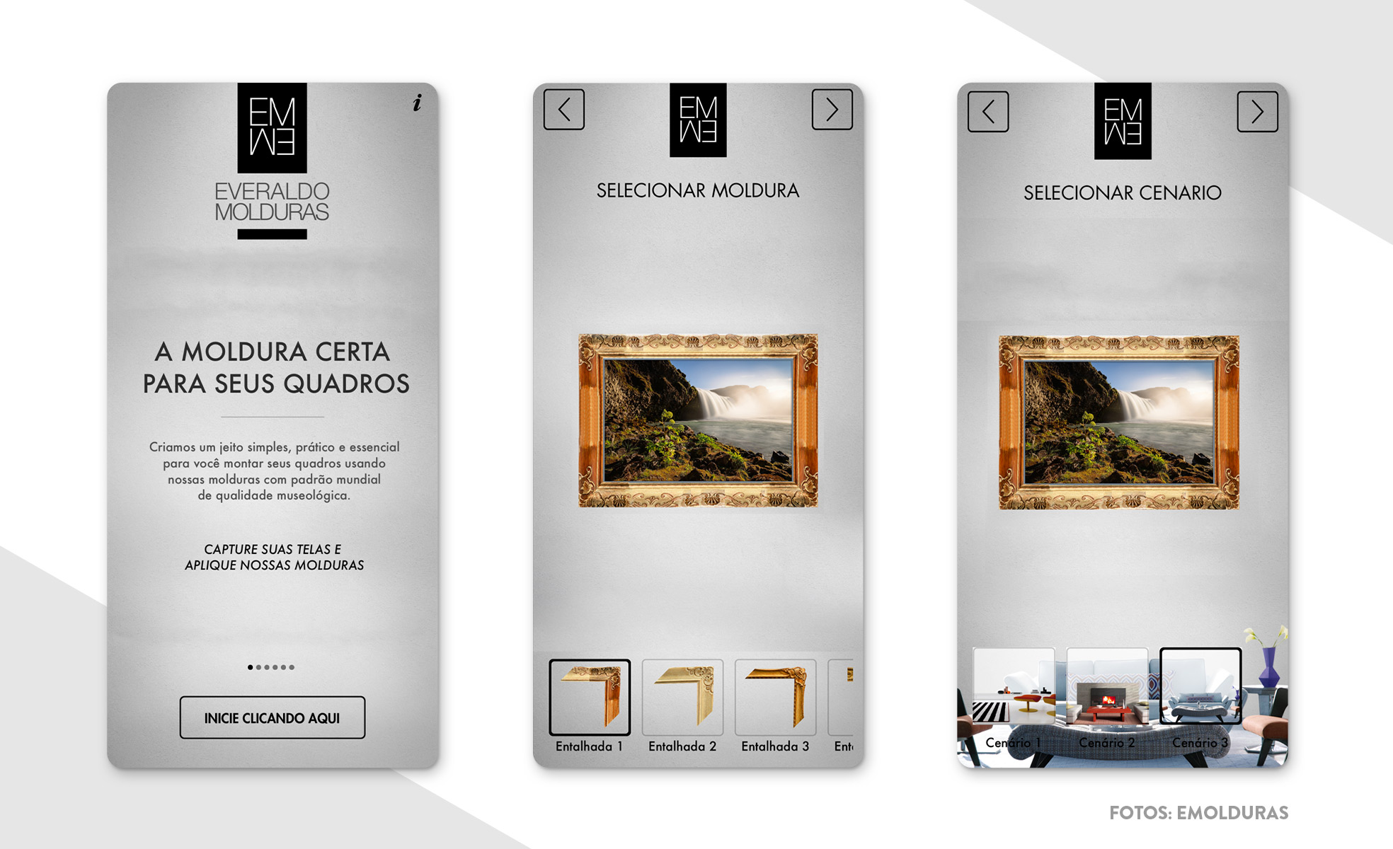Dicas de aplicativos de decoração | Moldura de quadros e fotos | westwing.com.br