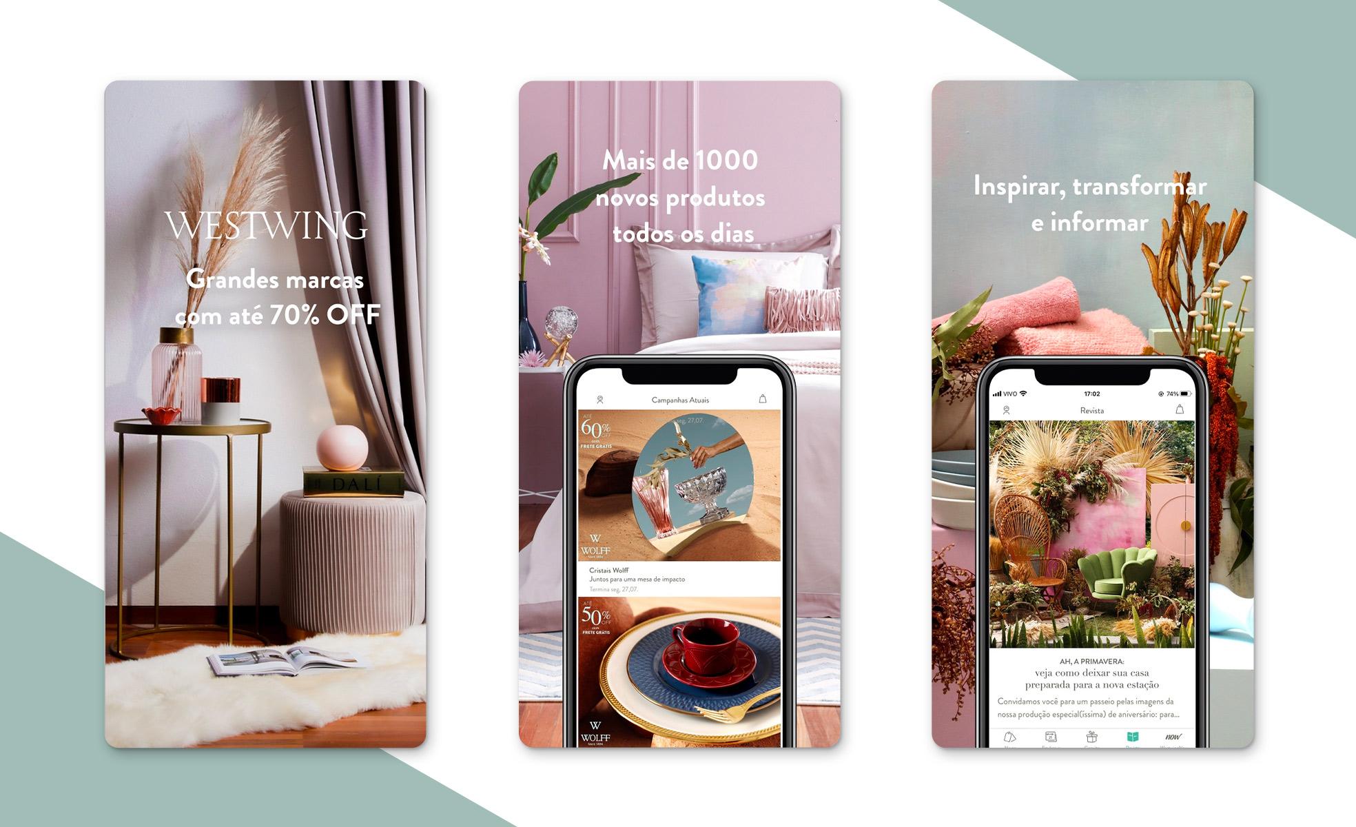 Westwing App | Dicas de aplicativos de arquitetura e decoração | westwing.com.br