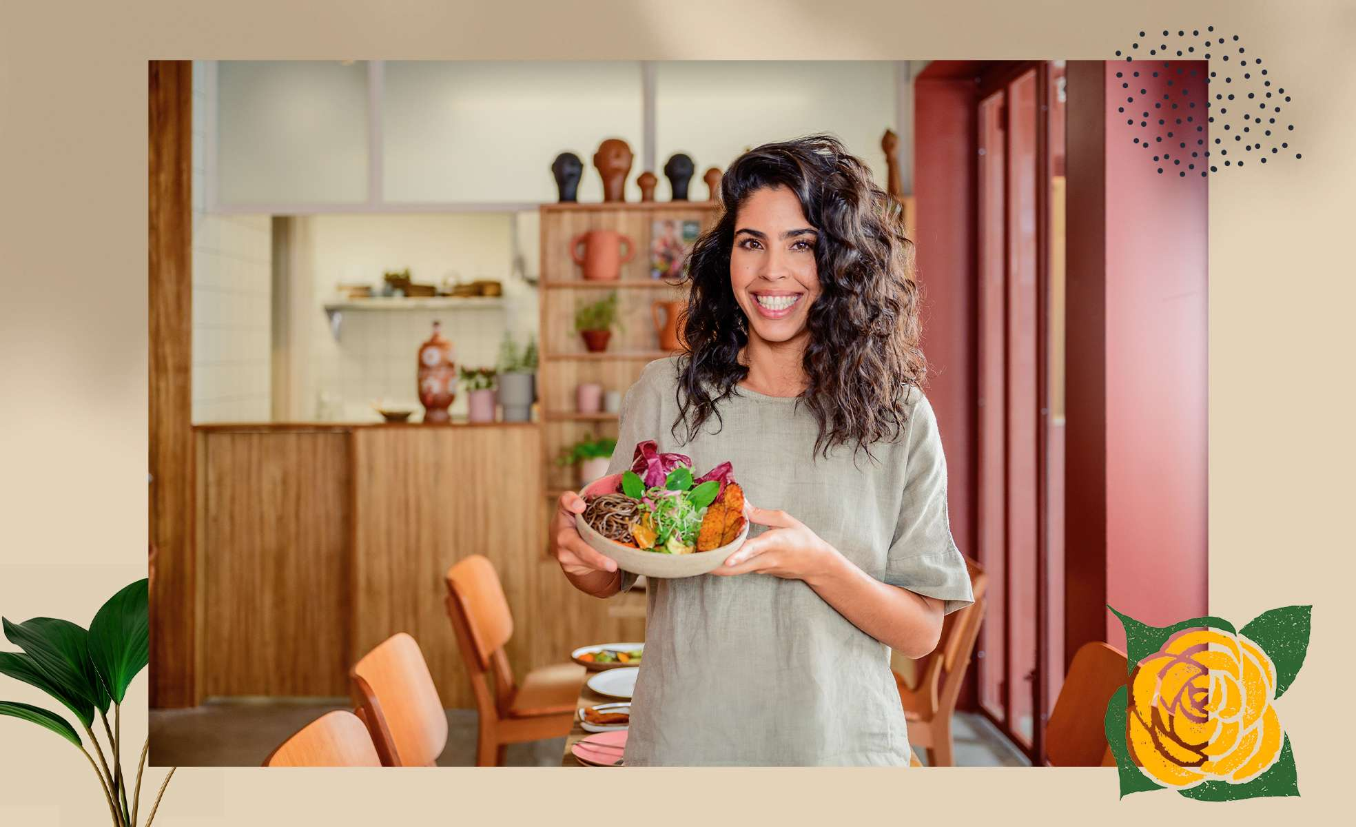 Bela Gil inaugura o seu restaurante Camélia Òdòdó