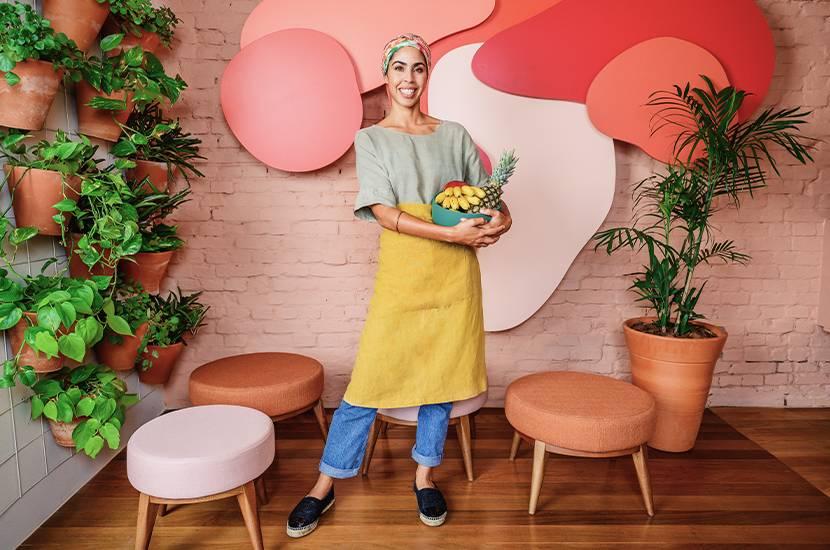 As escolhas de Bela Gil e seu novo restaurante em São Paulo | Westwing.com.br