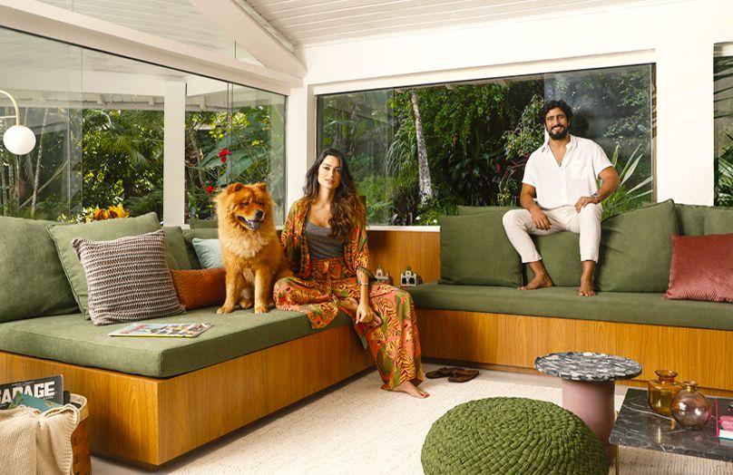 Westwing + Thaila Ayala e Renato Góes: o primeiro lar a dois | Westwing.com.br