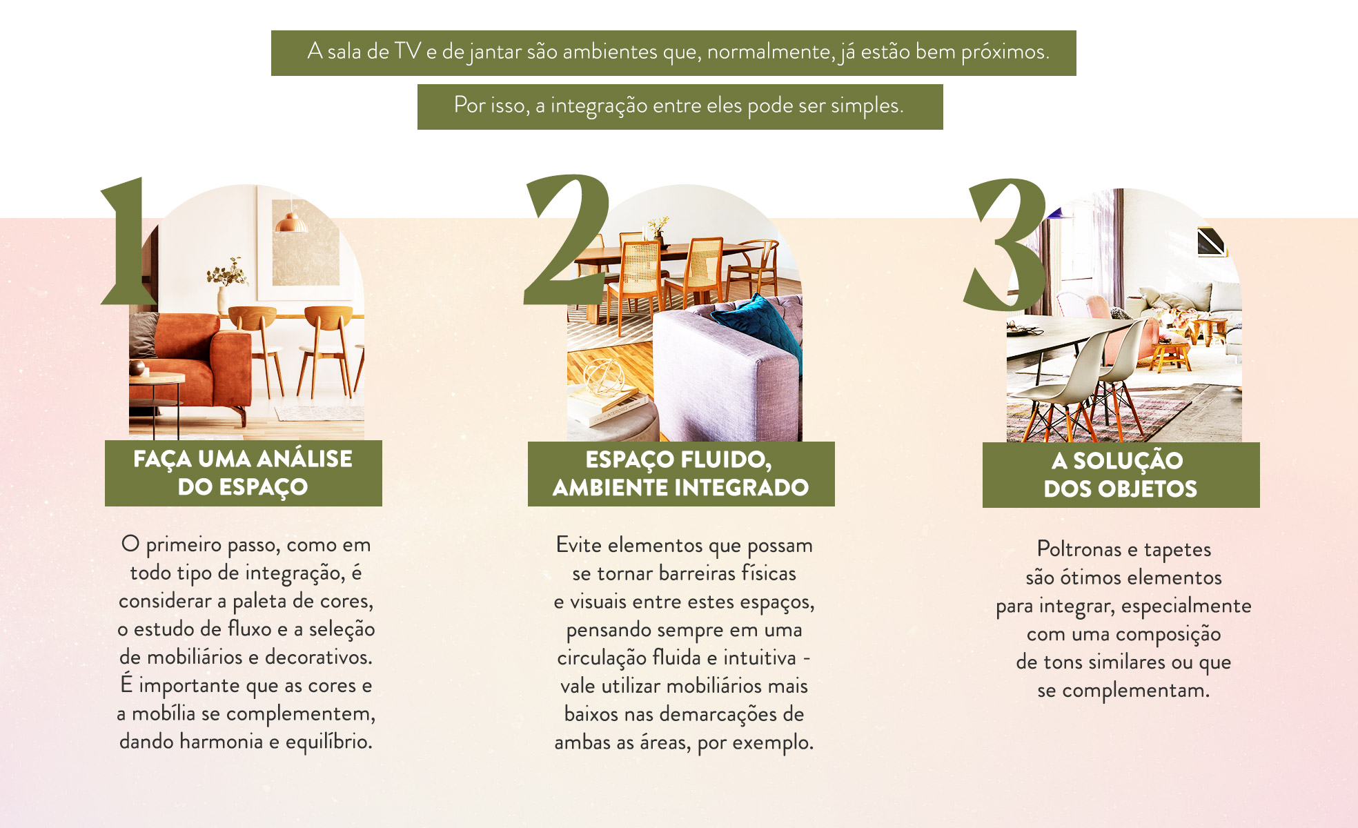 5 integrações de espaços para você se inspirar   Como criar ambientes integrados?   Foto 2   Westwing.com.br